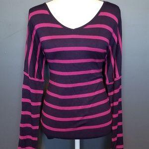 Pixley Sweaters - STITCH FIX Pixley Pink & Blue Sweater